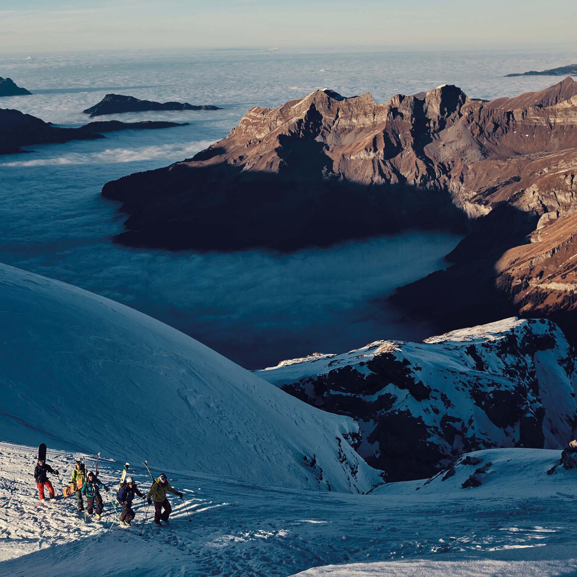 Skitour Gross Titlis