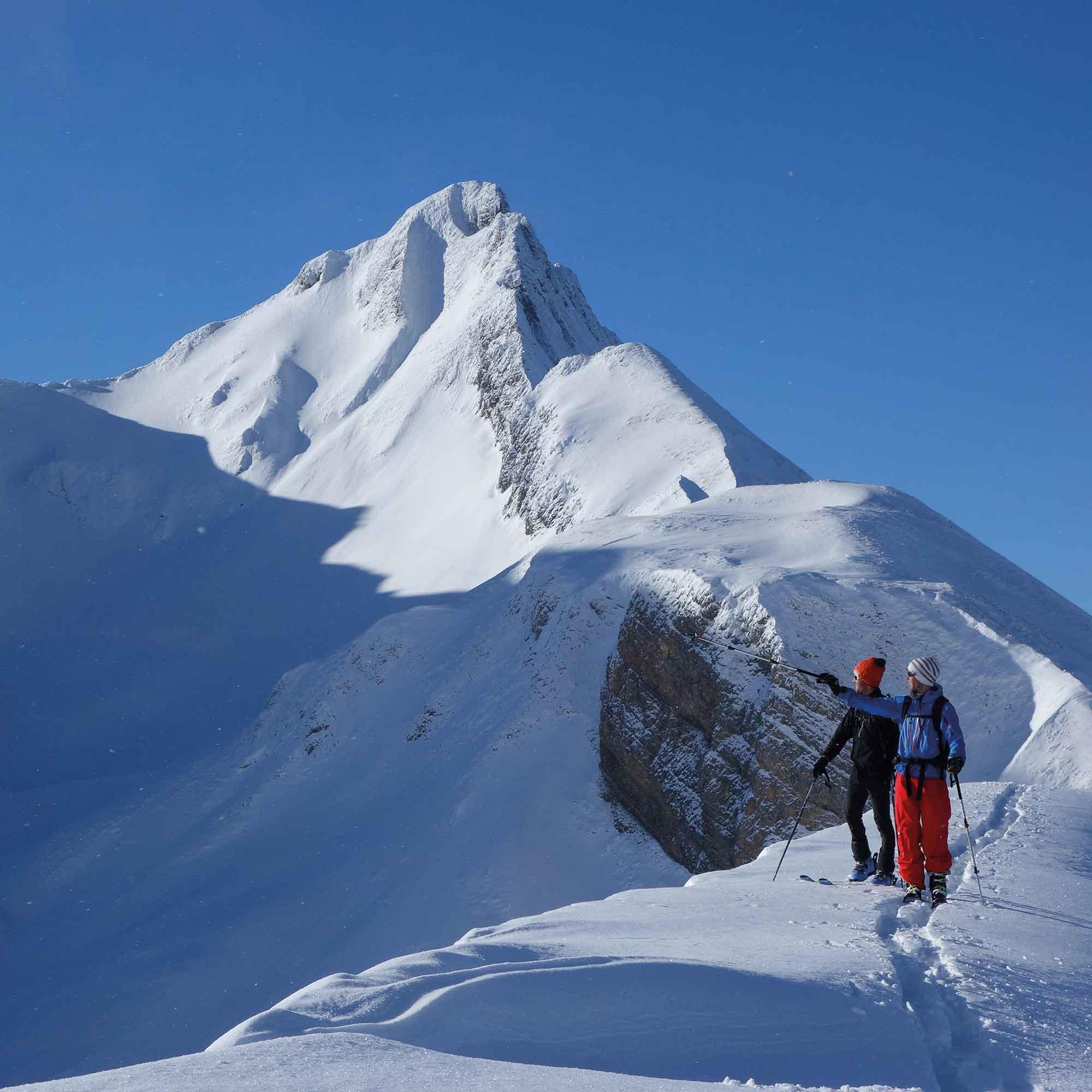 Skitour Glattigrat