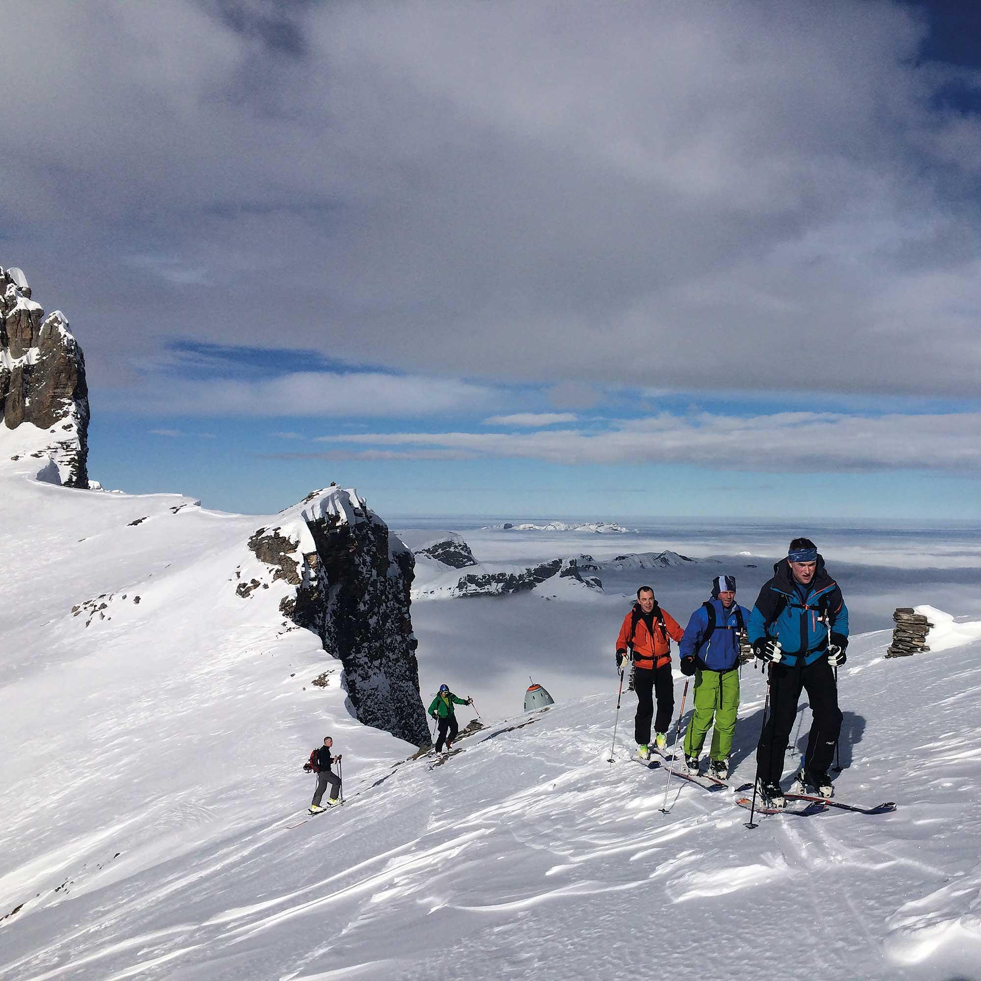 Skitour Schafberg